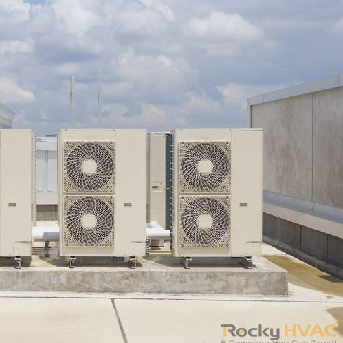 Consider replacing any HVAC unit over 10 years old.