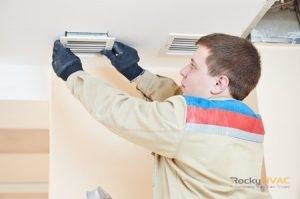 Mini-Duct Air Conditioner Installation